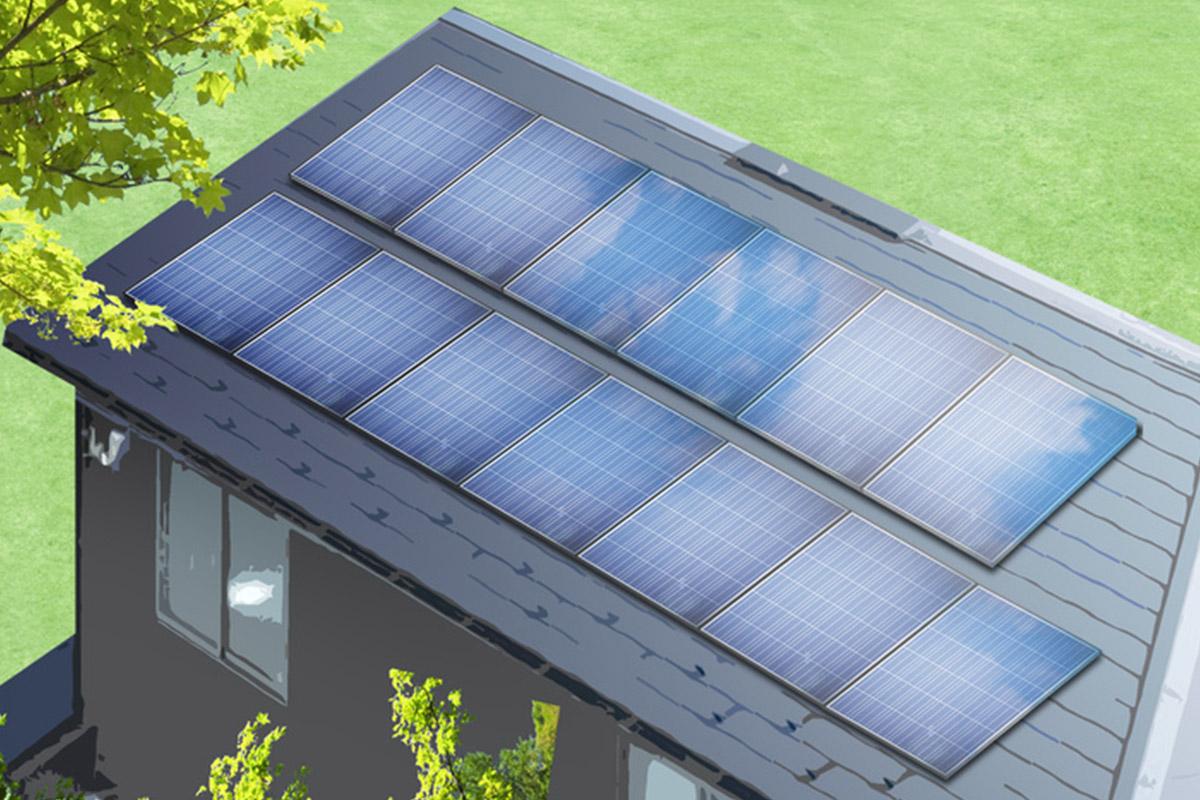 住宅用太陽光イメージ