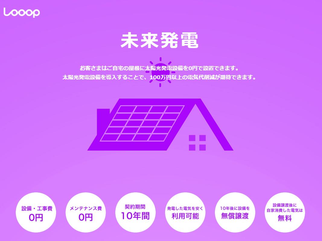 株式会社Looop 未来電気