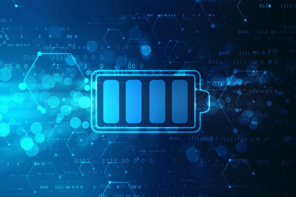 停電時に電気を供給するイメージ