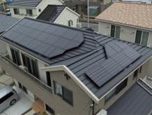 太陽光発電 導入事例2 北摂彩都の個人様宅