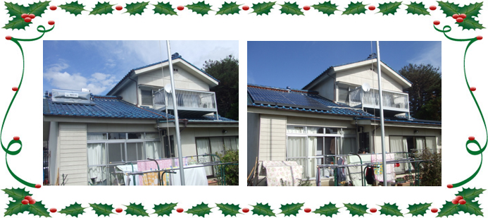 太陽光発電導入事例 1 山梨県山梨市 K邸