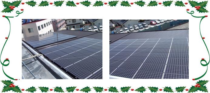 太陽光発電導入事例 7 山梨市ビックエコー様 21.6kw
