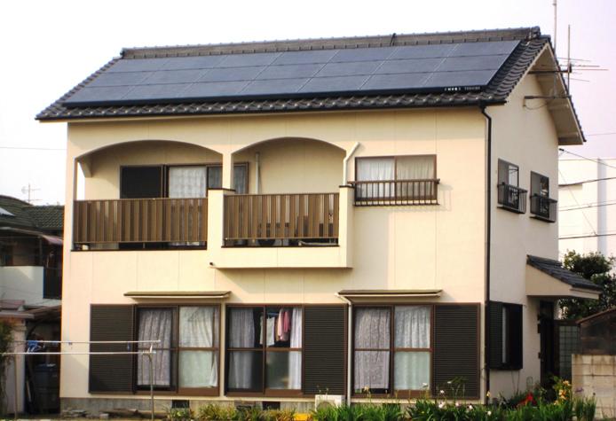 導入事例 2 岡山県岡山市南区藤田S様邸 東芝太陽光発電4.2kw
