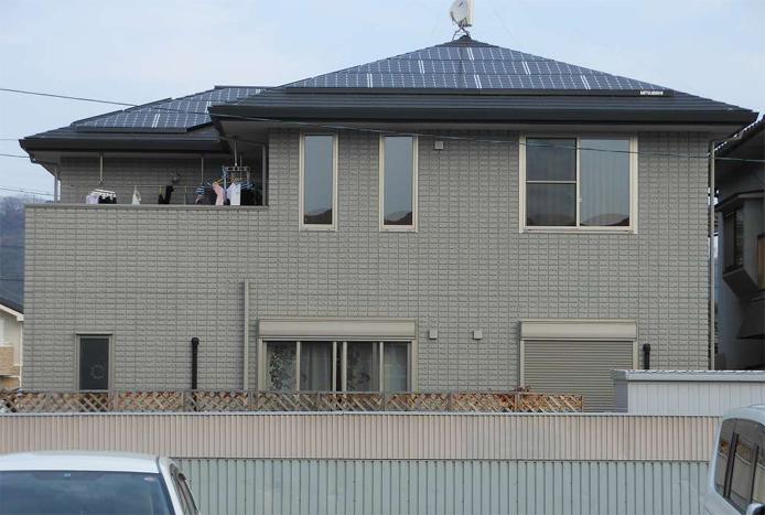 導入事例 3 広島県福山市M様邸 三菱太陽光発電5.23kw