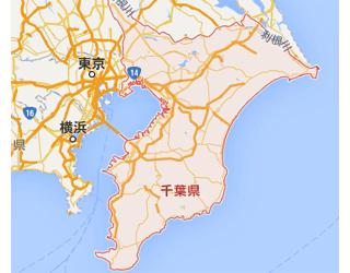 千葉県北西部 27円 / 65.52kW 【2016年5月連系予定】 地図